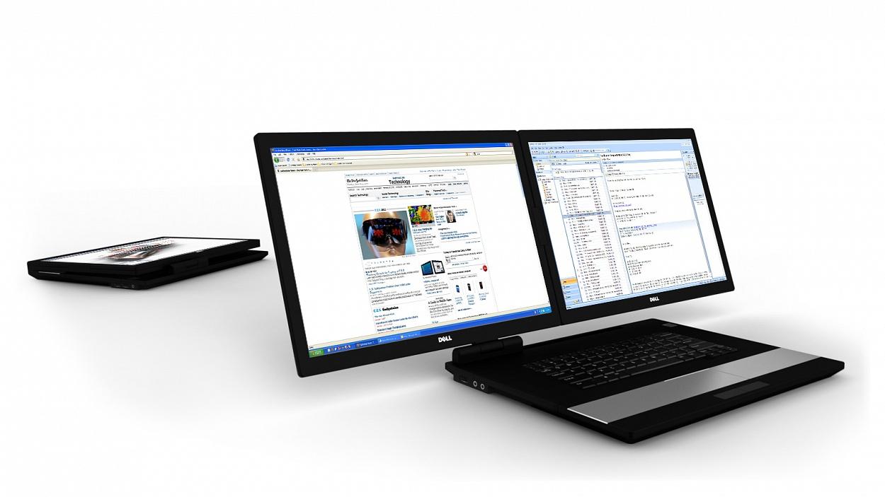 Dual Monitor Laptop